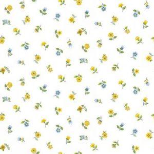 2032 Blooms Floral Scatter blue